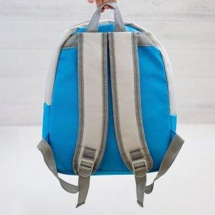 کوله پشتی کودک  رنگ آبی روشن مدل 3200
