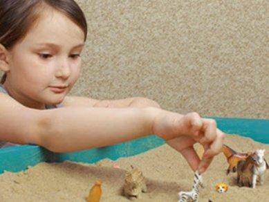 شن درمانی یا شن بازی تراپی کودک چیست؟