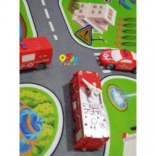 فرش ماشین بازی کودک مدل 2331