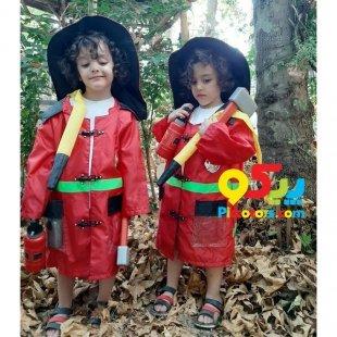خرید لباس آتشنشانی کودک