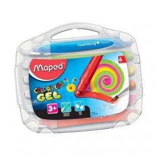 پاستل ژله ای آبرنگی 6 رنگ مپد Maped کد 74371