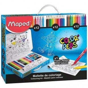 ست رنگ آمیزی 37 تکه مپد Maped کد 897420
