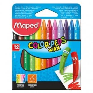 مداد شمعی 12 رنگ مپد Maped کد 861011
