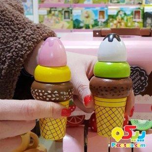 خرید اسباب بازی چوبی بستنی