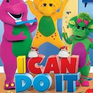 مجموعه بارنی دایناسور بنفش Barney i can do 2011