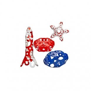 اسباب بازی ساختنی چند کاره فوتی قرمز کد 26002