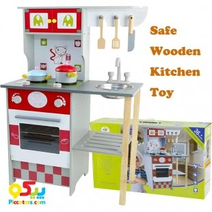 خرید آشپزخانه چوبی کودک