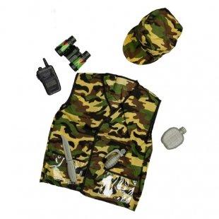 لباس مشاغل کودک مدل کماندو کد 3200