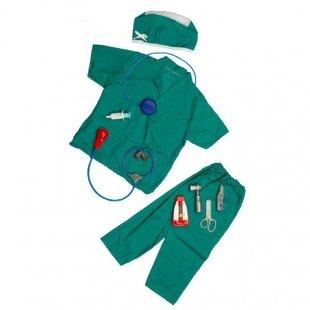 لباس مشاغل کودک طرح پزشک جراح کد 3194