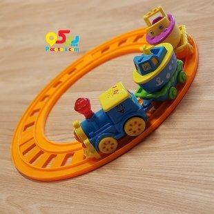 قطار اسباب بازی موزیکال طرح جوجه کد 7012A