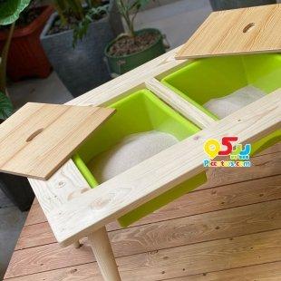 خرید میز کودک چوبی