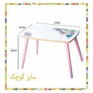 ابعاد میز چوبی پوپولوس