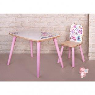 میز چوبی پوپولوس