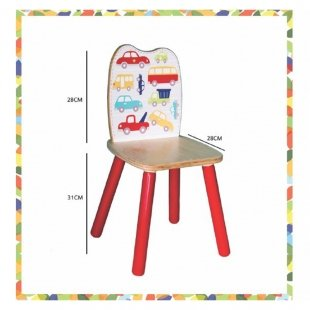 ابعاد صندلی چوبی پوپولوس