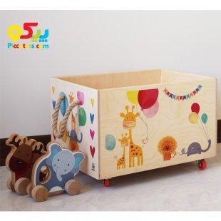 باکس اسباب بازی چوبی