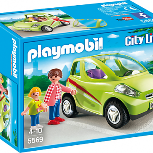 ماشین پلی موبيل مدل city car 5569