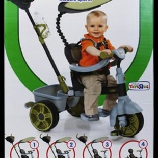 سه چرخه 4کاره کودک کد48443