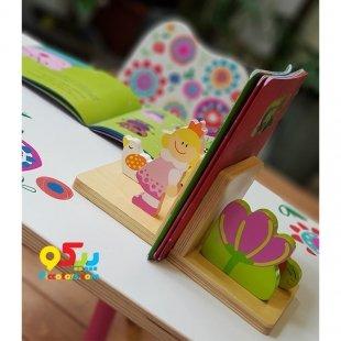 نگه دارنده چوبی کتاب کودک