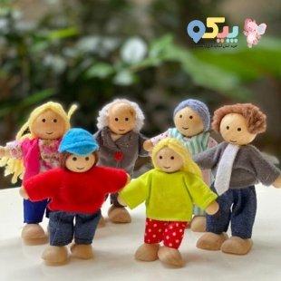 خرید اسباب بازی چوبی آدمک