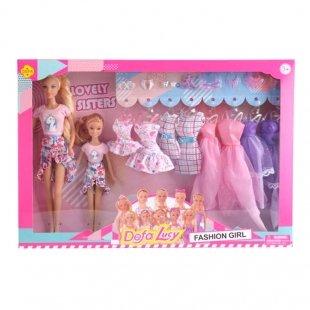 قیمت عروسک دخترانه باربی با لباس اضافه مدل دفا