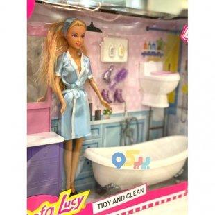 خرید عروسک دخترانه دفا باربی