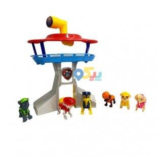 خرید اسباب بازی برج مراقبت سگهای نگهبان
