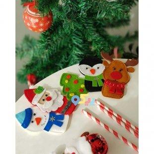 عروسک کریسمس برای هدیه سال نو میلادی