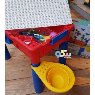 خرید میز کودکانه لگو بازی و شن بازی