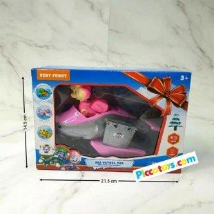 اسباب بازی سگهای نگهبان با ماشین
