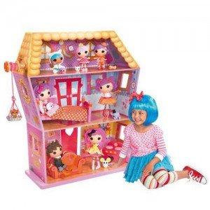 خانه عروسک چوبی لا لالوپسی