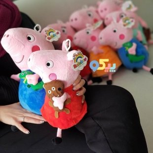 خرید عروسک پولیشی خانواده پپاپیگ