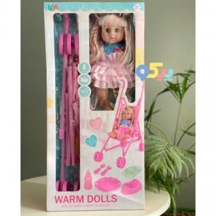خرید عروسک کالسکه دار