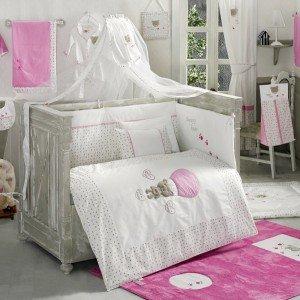 سرویس خواب ۹تکه کودک cute bear pinkkidboo
