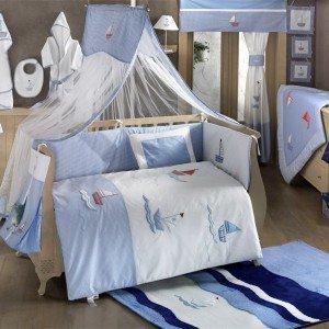 سرویس خواب ۹ تکه کودک blue marinkidboo