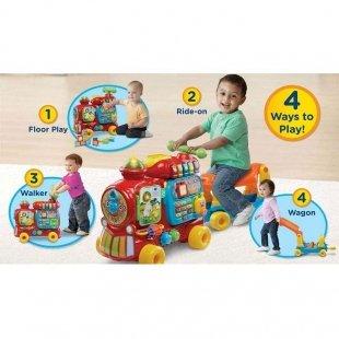 خرید واکر کودک چند کاره وی تک vtech طرح قطار