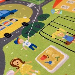 خرید فرش ماشین بازی کودک