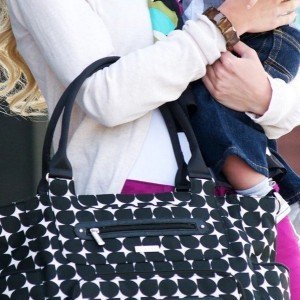 فروش کیف لوازم مادرJJ Cole Caprice Bag - Silver Drop