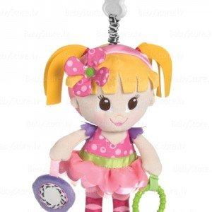 عروسک گیره دار دختر صورتی playgroکد181202