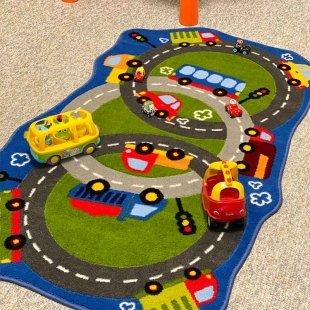 فرش ماشین بازی کودک ترک