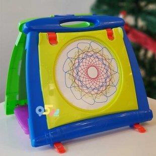 تخته  نقاشی کودک چند کاره کد 5075