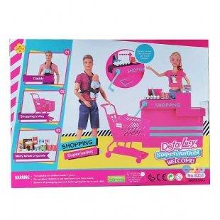 سوپرمارکت عروسک باربی Defa Lucy کد 8351