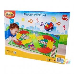 خرید اسباب بازی پیست ماشین بازی با فرش بازی winfun کد 001250
