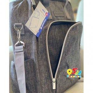 خرید کیف  لوازم نوزاد طوسی روشن Kikka Boo مدل 318346
