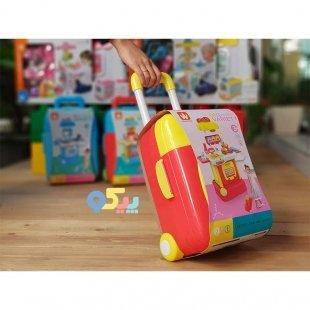 قیمت اسباب بازی همبرگر فروشی چمدانی