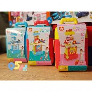خرید اسباب بازی سوپر مارکت کودک چمدانی