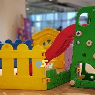 خرید پارک حفاظ کودک بدنه نیمه مدل قطار 50331