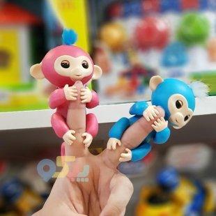 خرید اسباب بازی ربات میمون آبی پررنگ کد 777637