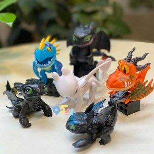 قیمت اسباب بازی فیگور اژدها سواران 6 عددی کد 6923