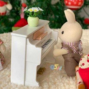 خرید خانواده سیلوانیان مدل پیانو اسباب بازی