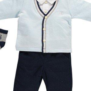 ست 3تکه لباس پسرانه Emile et Rose کد 6363